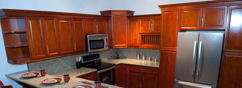 Burgundy maple cabinets cabinetry stone depot wilkes for Burgundy kitchen cabinets pictures
