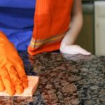 Cleaning the kitchen: Safe products to use on granite and cabinets
