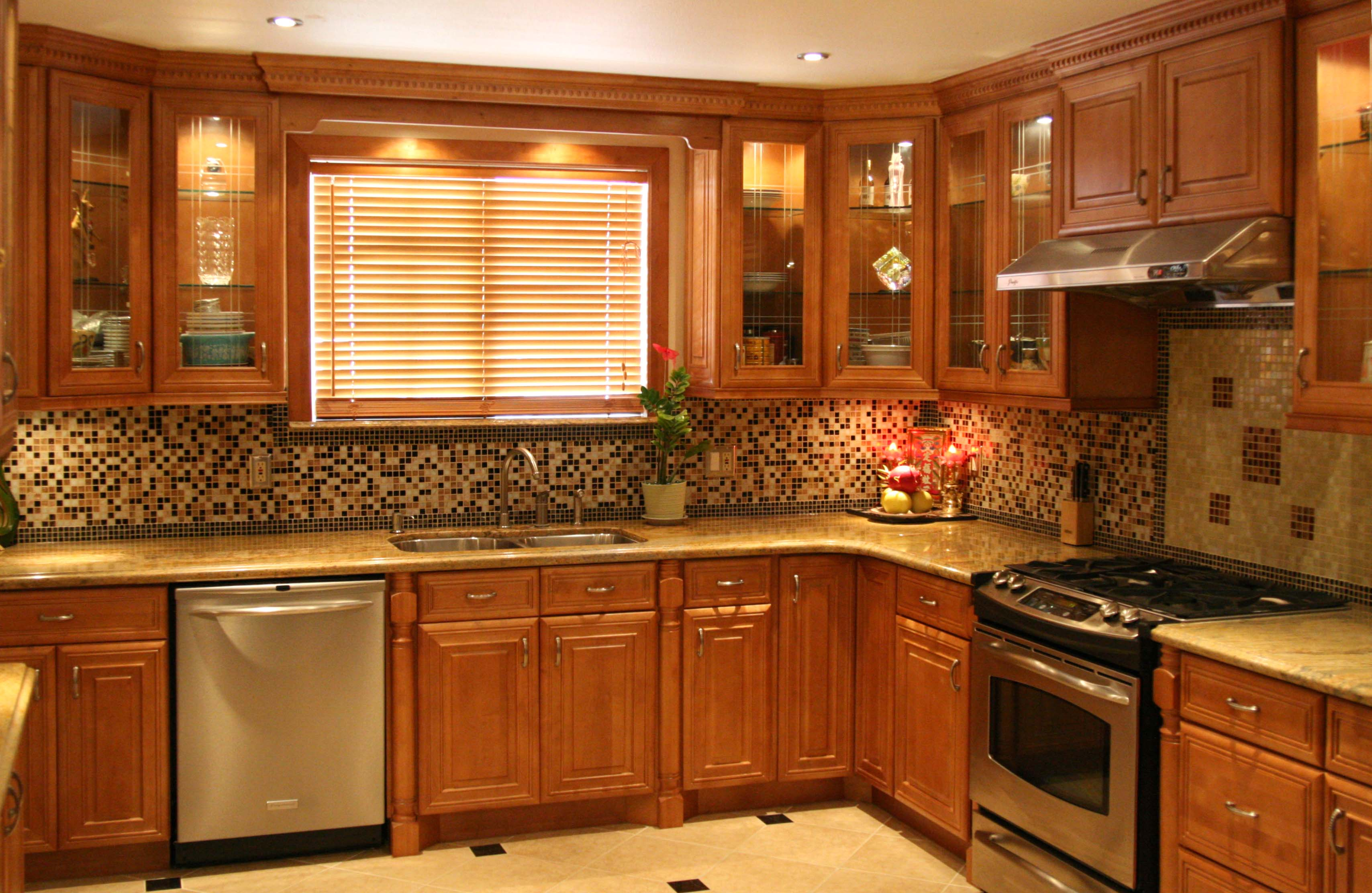 Cabinetry & Stone Depot Wilkes Barre Kitchens & Cabinets. Full resolution‎  pic, nominally Width 3416 Height 2224 pixels, pic with #C17B0A.