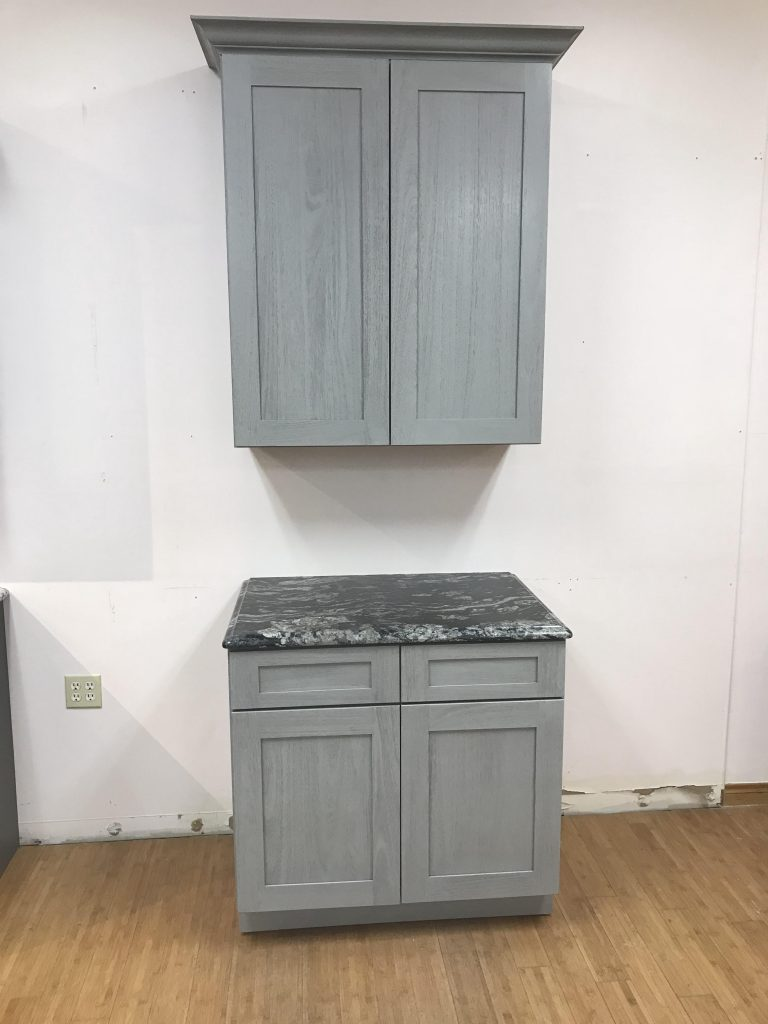 Nova Light Grey Shaker Cabinet