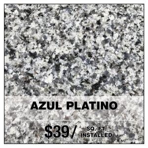 AZUL PLATINO
