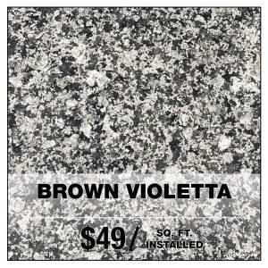 Brown Violetta