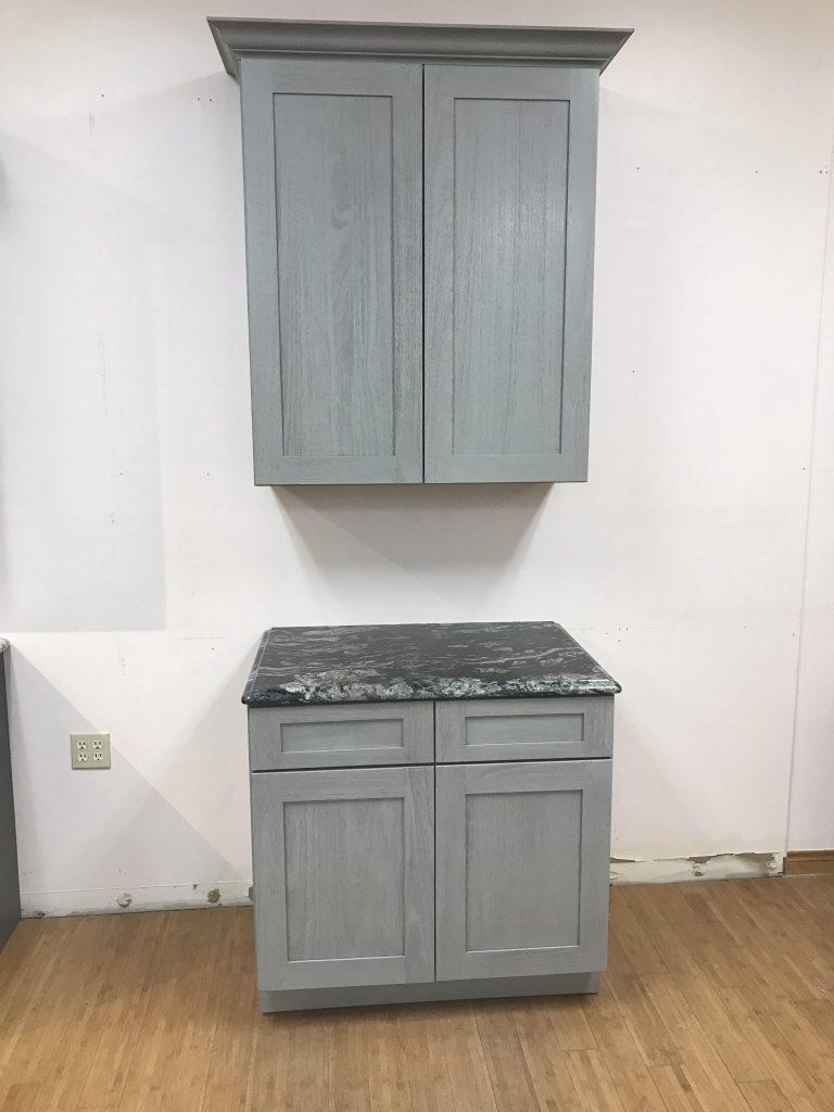 Nova Light Grey Shaker Cabinet